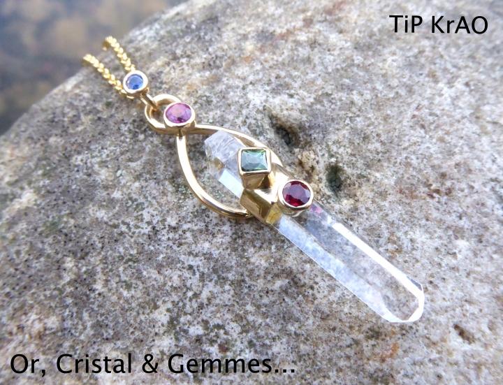Or cristal & gemmes 2